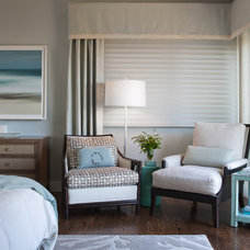 Transitional Bedroom by Shirley Parks Design
