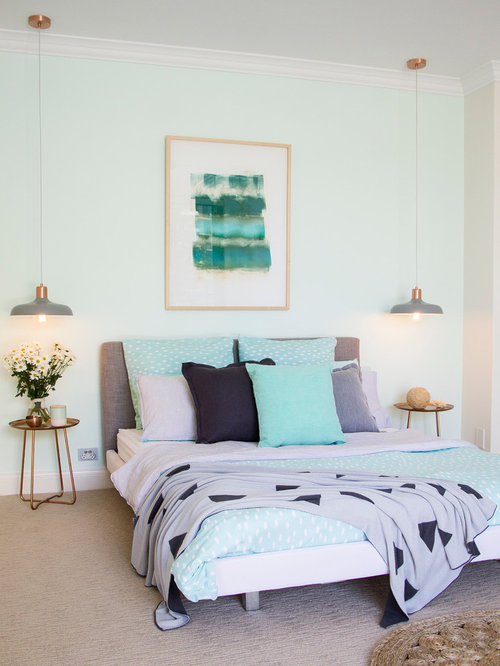682 Mint Green Bedroom Design Ideas amp Remodel Pictures Houzz