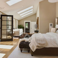 contemporary bedroom by Urrutia Design