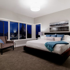 Transitional Bedroom by Capstone Custom Homes