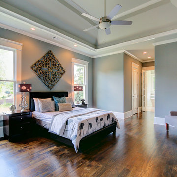 Transitional Design Custom Home - Marietta, GA