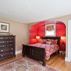 Contemporary Bedroom by Debra Lipset Designs