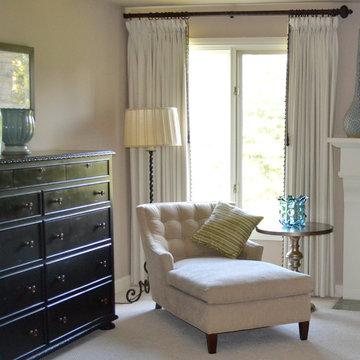 Transitional full service interior design project