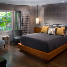 Transitional Bedroom by Cynthia Bennett & Associates