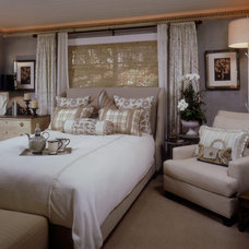 Traditional Bedroom by Megan Crane Designs, Inc.
