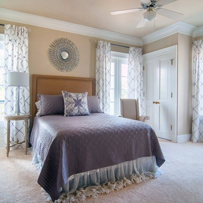 Transitional Guest Room