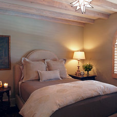 Mediterranean Bedroom by Wendy Black Rodgers Interiors
