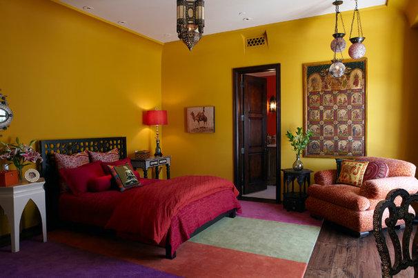 Mediterranean Bedroom by Wendy Black Rodgers Interiors