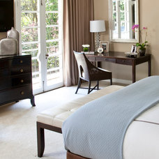 Traditional Bedroom by Christine Sheldon Design