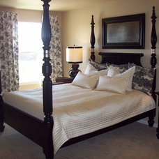 Traditional Bedroom by Erin Johnson Interiors, LLC