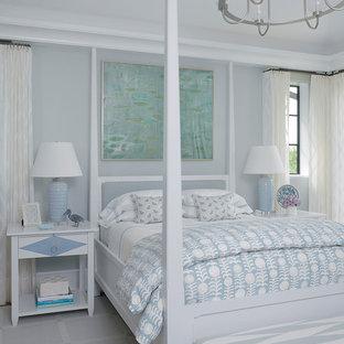 Bild på ett tropiskt sovrum