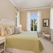 Transitional Bedroom by Interiors By Agostino's