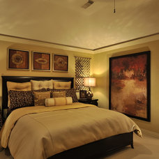Transitional Bedroom by The Design Firm
