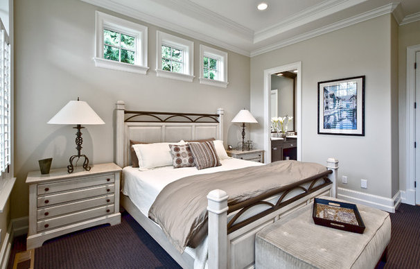 Transitional Bedroom by DESIGN GUILD HOMES