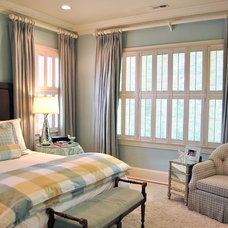 Traditional Bedroom by Katherine Connell Interior Design