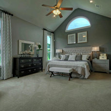 Transitional Bedroom by Linfield Design Associates