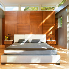 Contemporary Bedroom by Moore Architects, PC