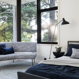 Trendy Bedroom Photo In Seattle