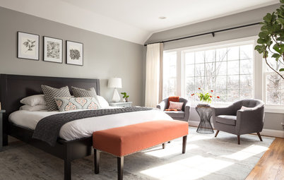 Long Island Bedroom Gets a Sophisticated New Look