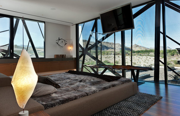Contemporary Bedroom by Assemblage Studio