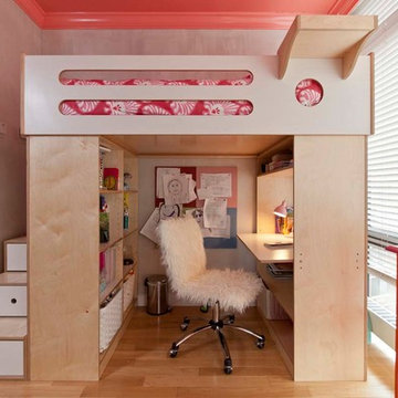 Tribeca; Adjoining rooms fitted with a loft bed and bunk bed
