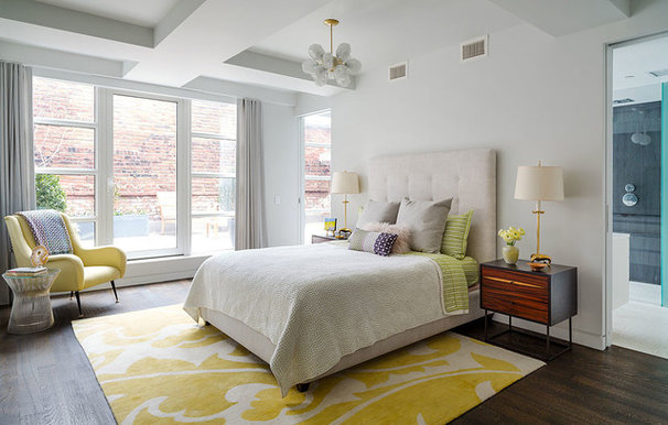 Contemporary Bedroom by Design Development NYC