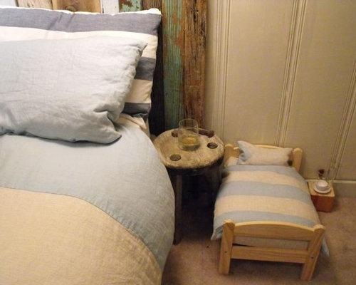 cat bedroom. Example of an eclectic bedroom design in San Francisco Cat Bed  Houzz
