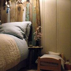 Eclectic Bedroom by Rough Linen