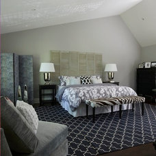 Contemporary Bedroom by Meredith Heron Design