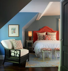 contemporary bedroom by Meredith Heron
