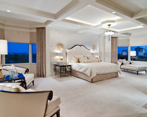 Large master bedroom home design ideas pictures remodel - Big master bedroom design ...