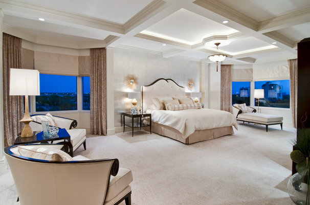 Traditional Bedroom by Barbara Rooch Interior Environments, Inc.