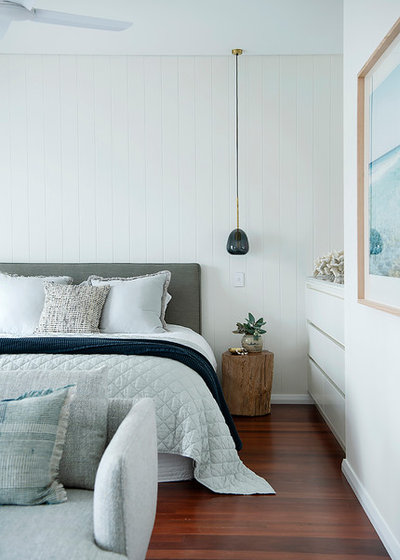 Beach Style Bedroom by Collected Interiors