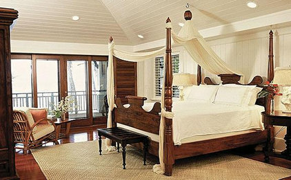 Tropical Bedroom Trigg-Smith Architects - Project - An Island Estate