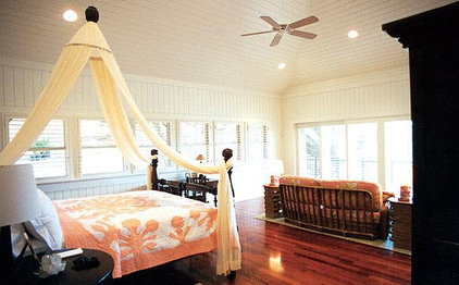 Tropical Bedroom Trigg-Smith Architects - Project - Island Estate Guesthouses
