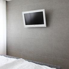 Contemporary Bedroom by Martin Hulala