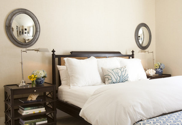 Tropical Bedroom by Chandos Interiors
