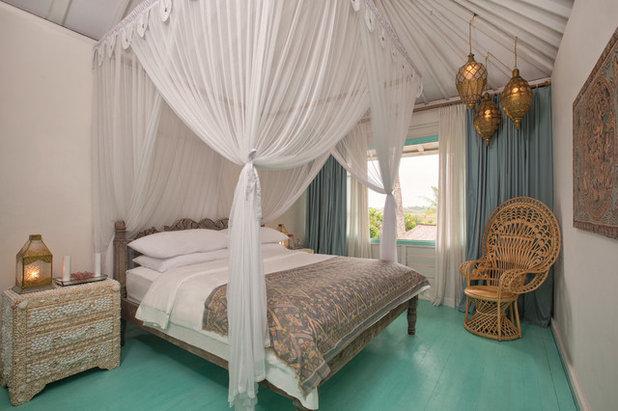 Тропический Спальня by DESIGN 4 CORNERS