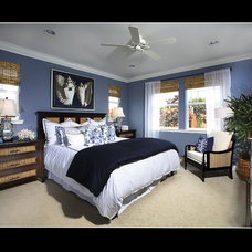 Tropical Bedroom by JAG Interiors, Inc.
