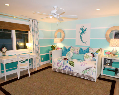 Mermaid theme home design ideas pictures remodel and decor for Island decor bedroom