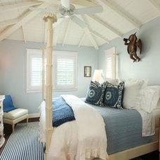 Tropical Bedroom by Renée Gaddis Interiors