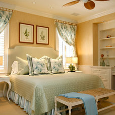 Tropical Bedroom by Romanza Interior Design