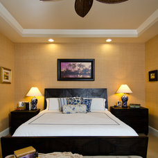 Tropical Bedroom by Urban I.D. Interior Design Services