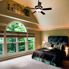 Tropical Bedroom by ALH Home Renovations, LLC