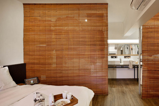 Asian Bedroom by The Design Abode