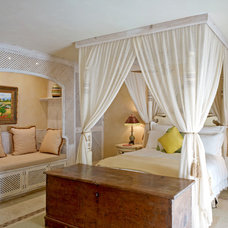 Mediterranean Bedroom by Vogue Interiors