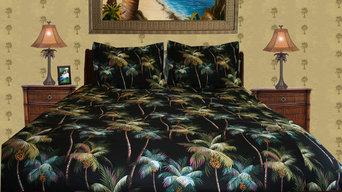 Tropical Palm Tree Room