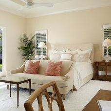 Transitional Bedroom by RLH Studio