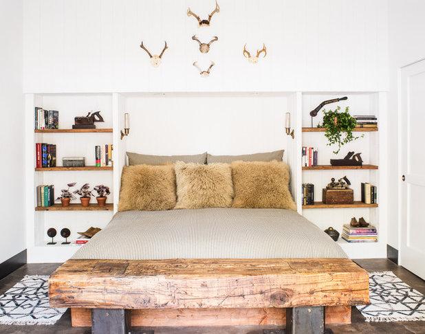 Rustic Bedroom by Antonio Martins Interior Design