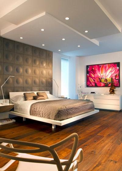 Contemporary Bedroom by Britto Charette - Interior Designers Miami , FL